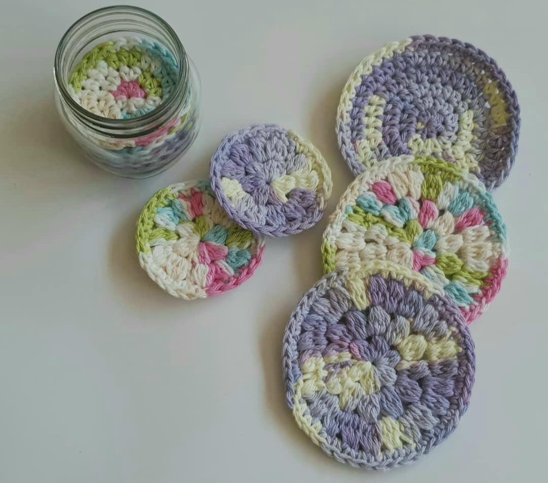 Crochet Scrubbies Set