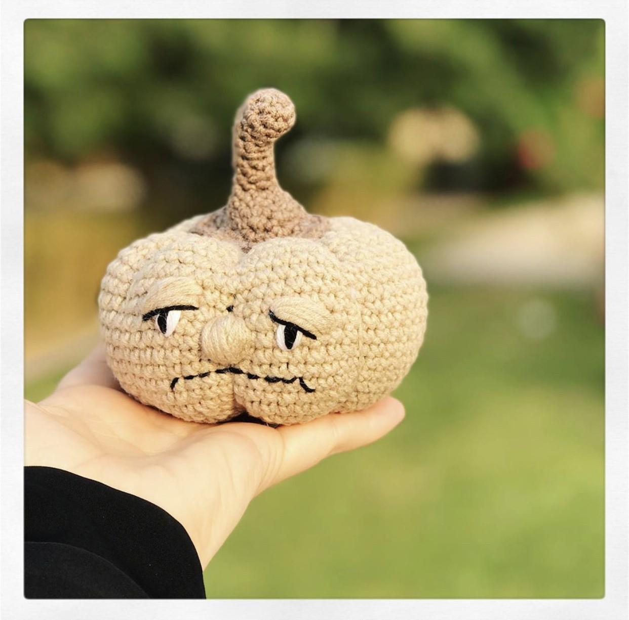 Mr. Grumpy Pumpkin