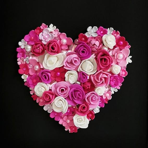 Flower Heart in a Frame