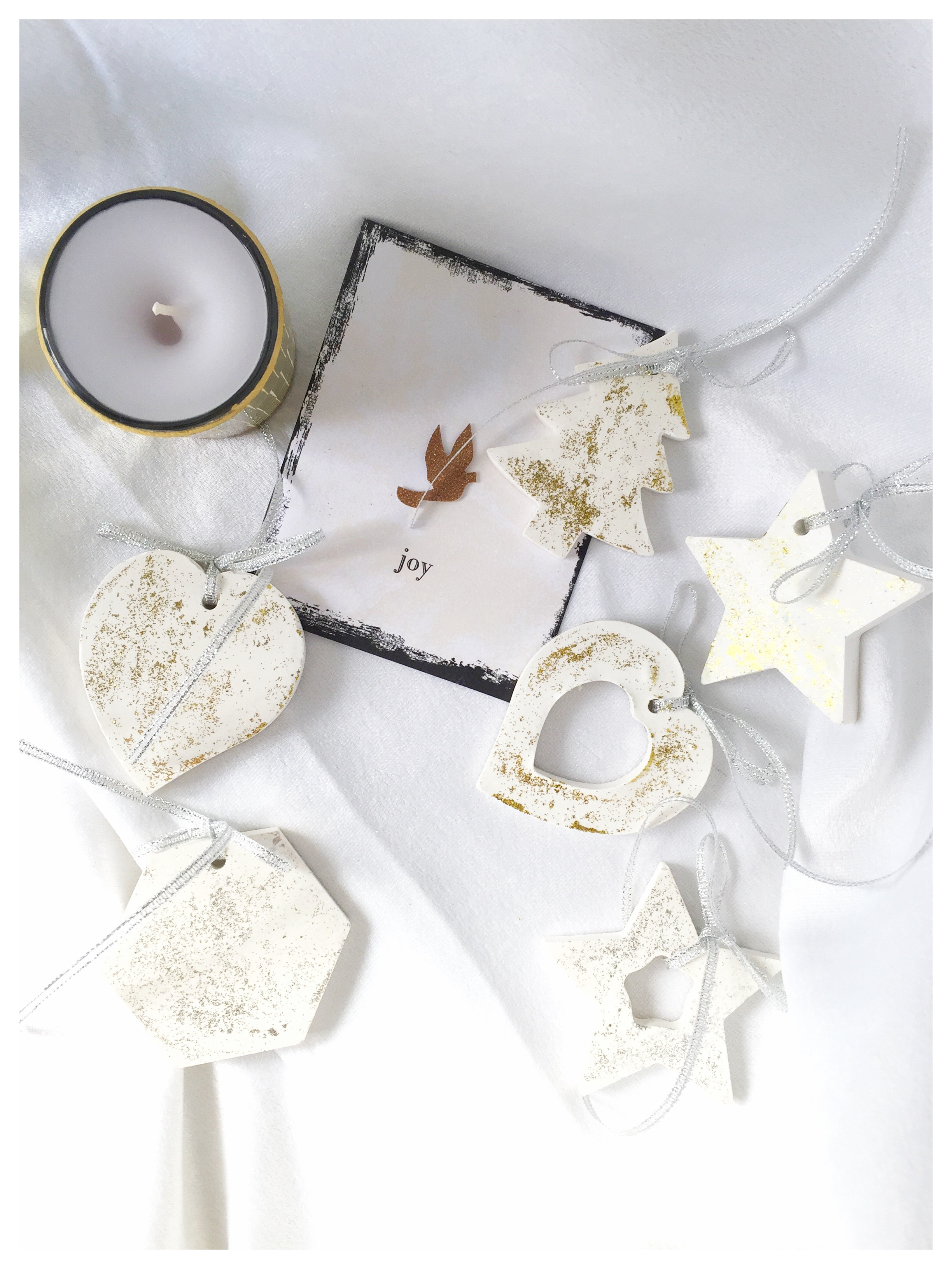 Scented Christmas Ornaments (6 Pieces Set)