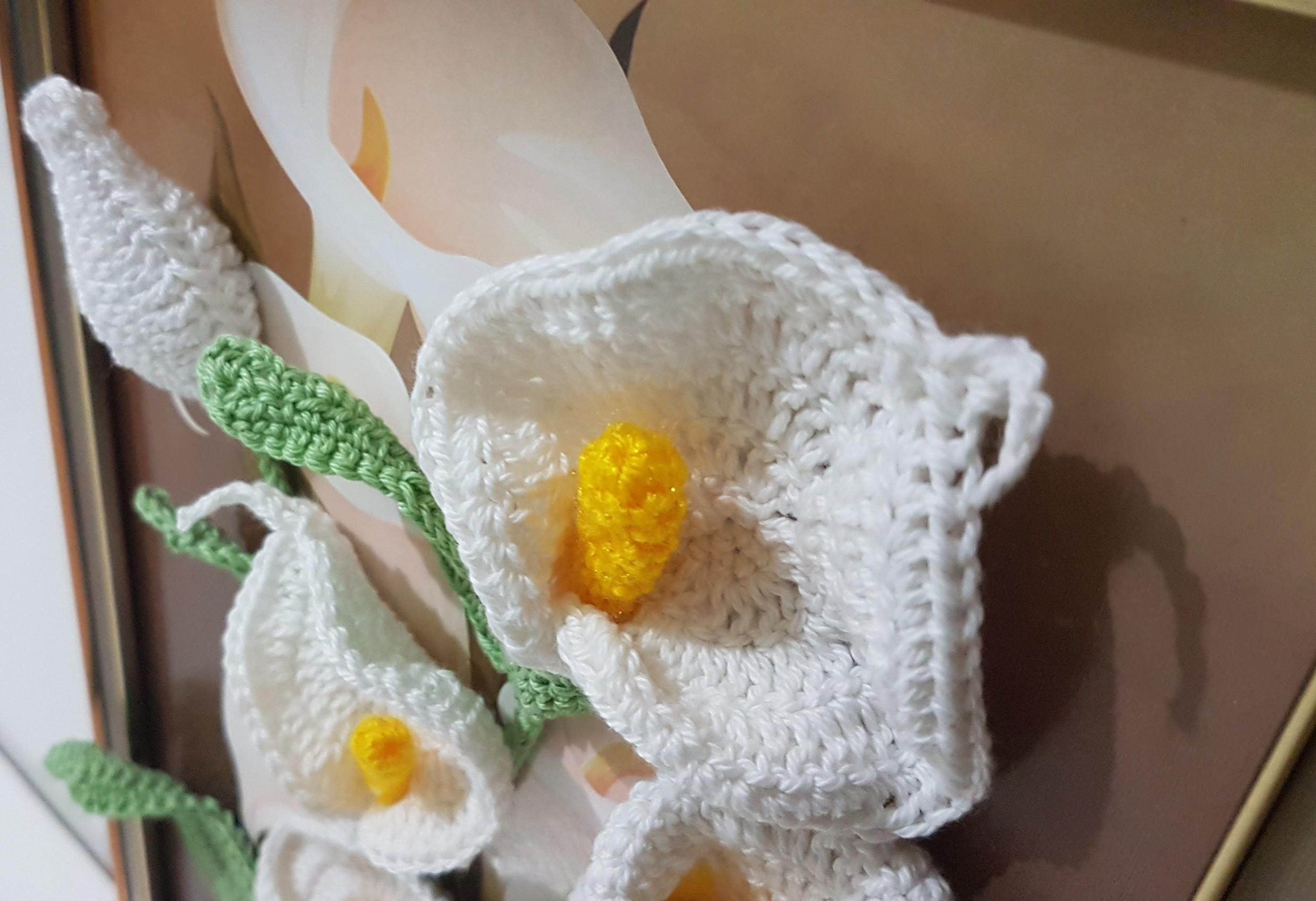 3D Crochet Lilies