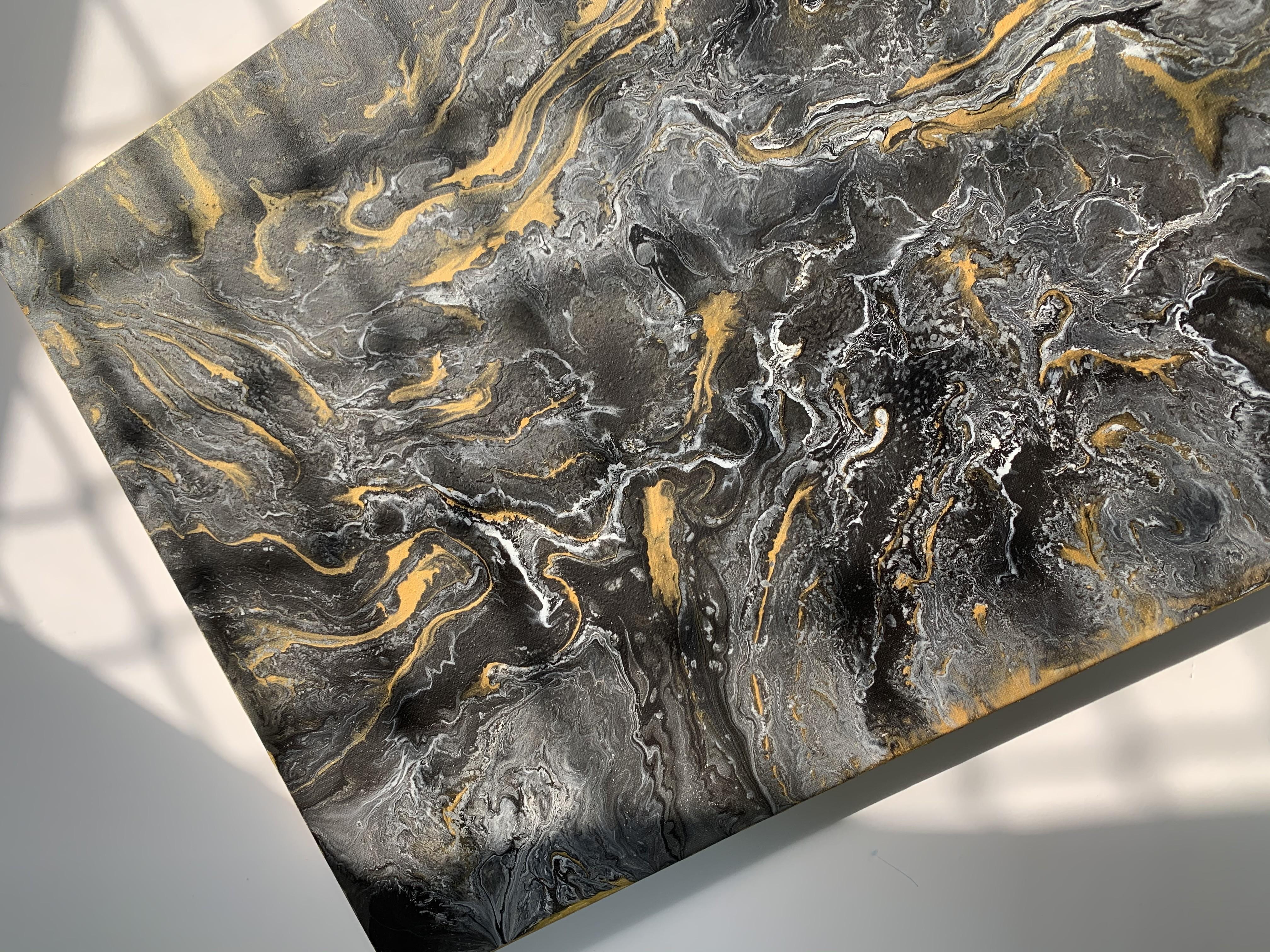 Fluid Art Wall Decor Canvas