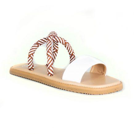 Odara White Sandals