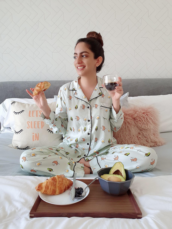 Breakfast Classic PJ Set