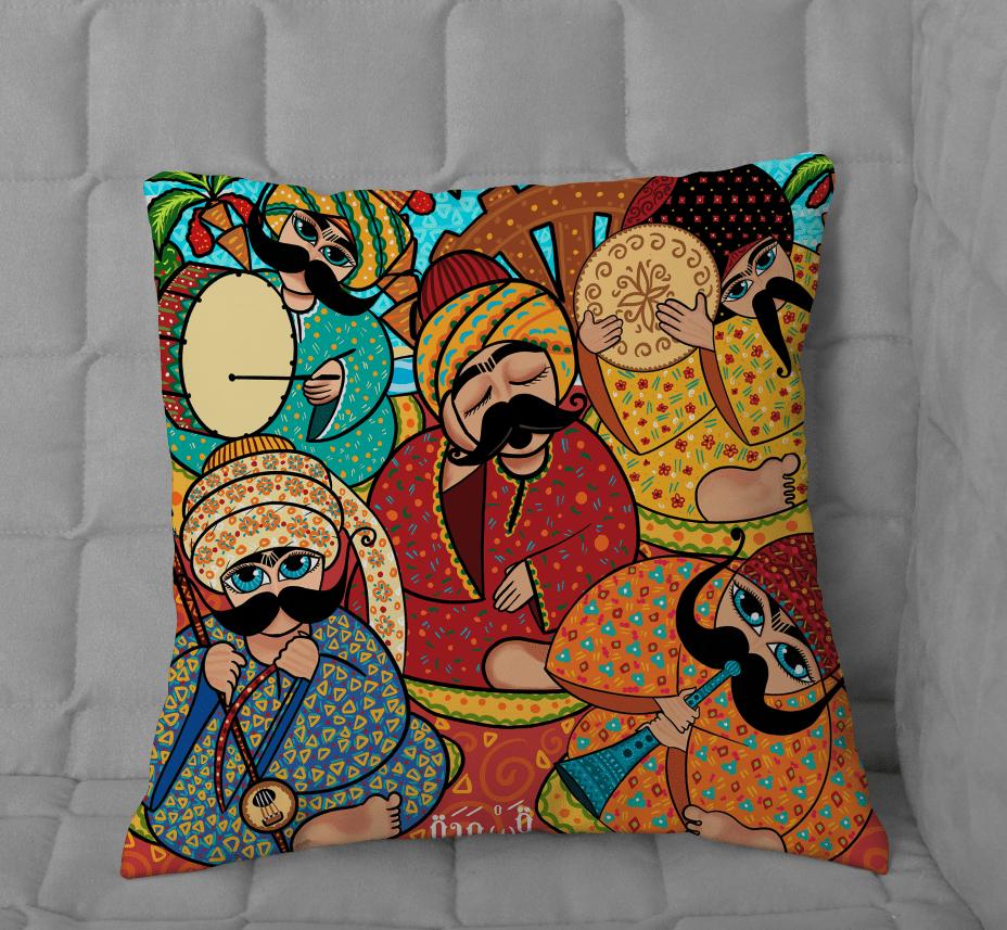 Cushion Musicians