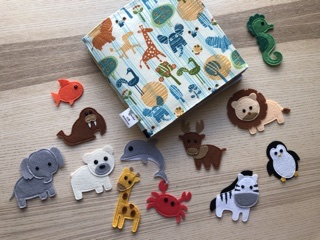 Busy book - Animals