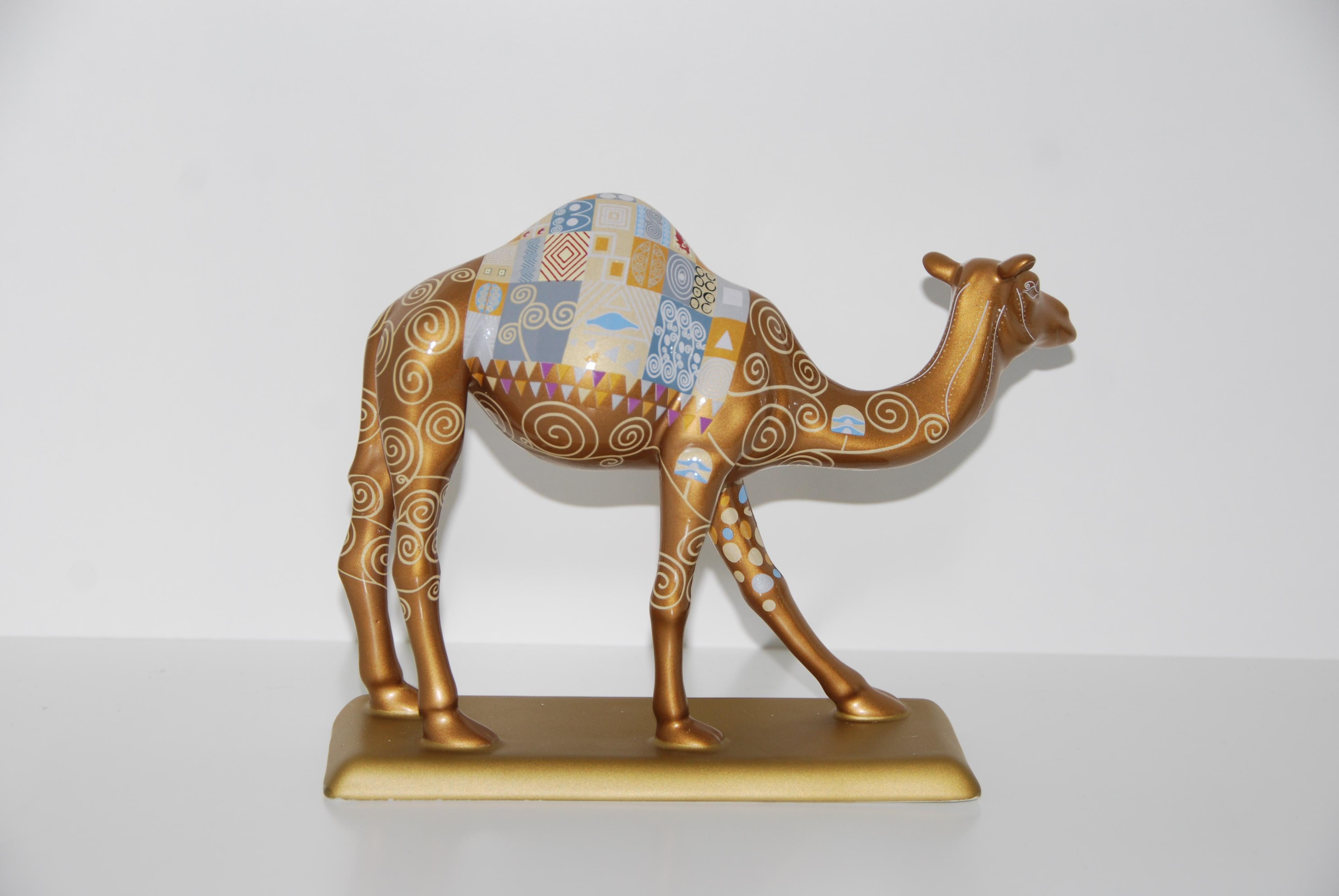 ''KLIMT'' Camel Caravan, handmade, ceramic