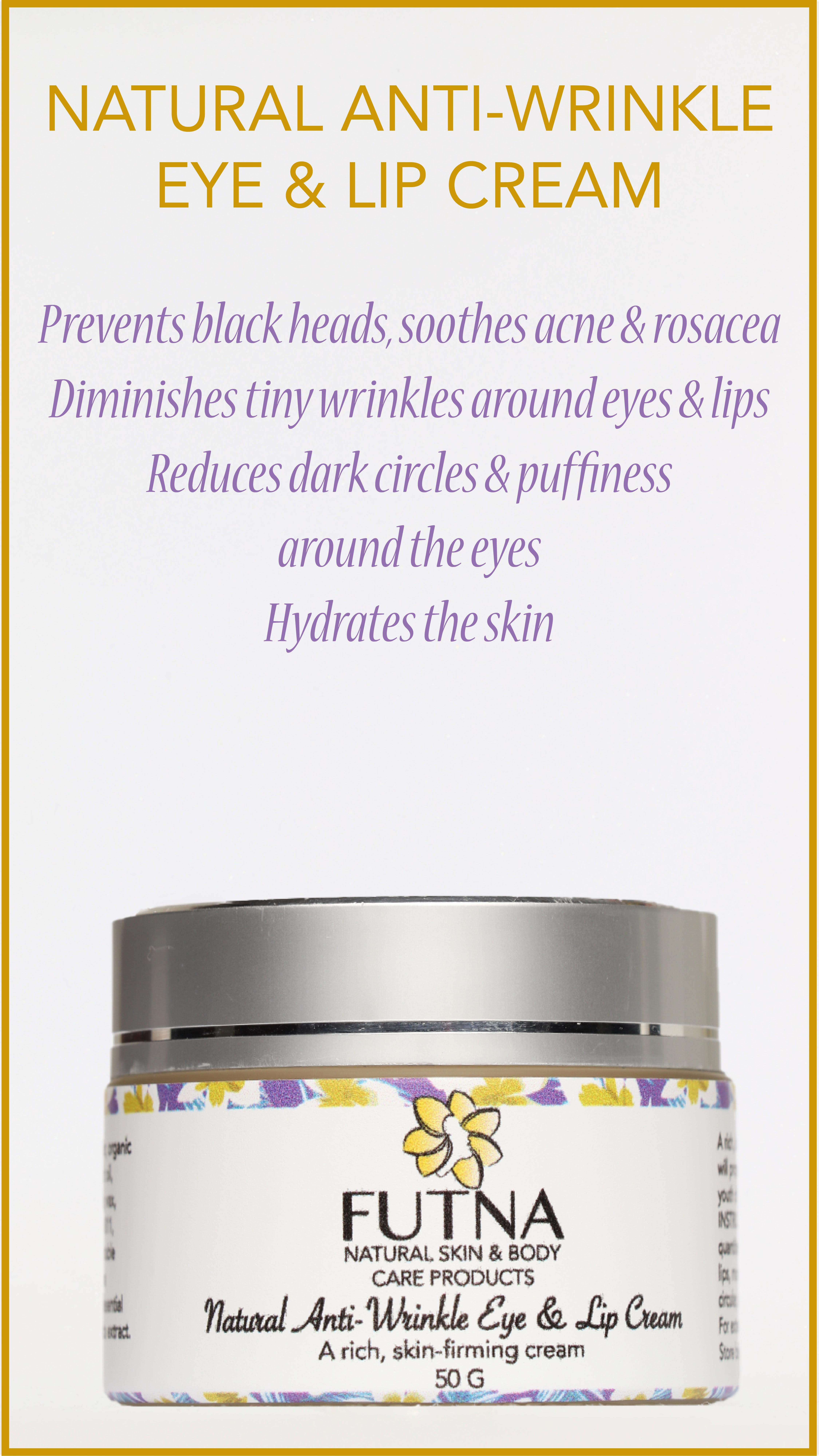 Natural Anti-Wrinkle Eye & Lip Cream