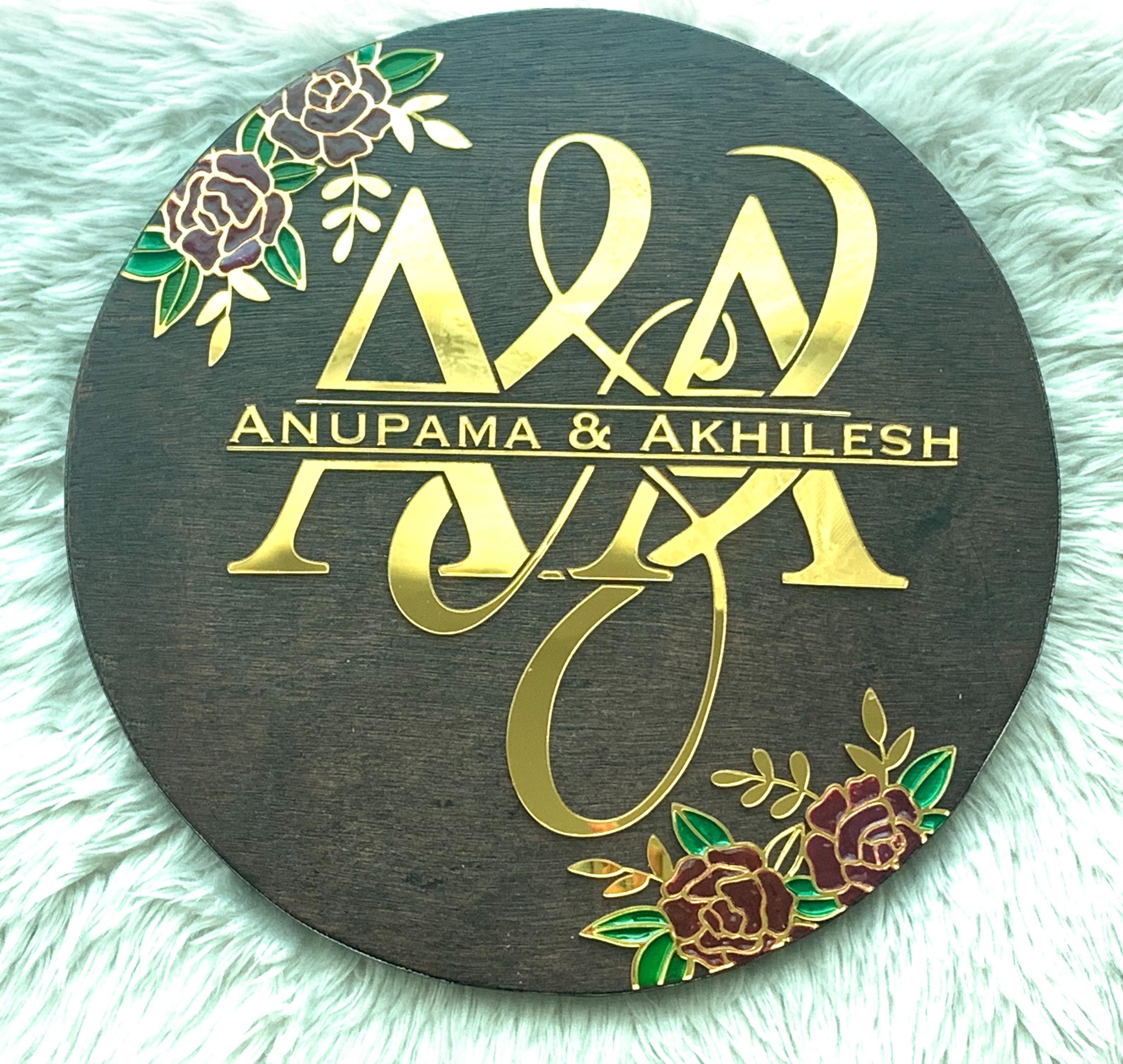 Name Sign (Wedding Gift)