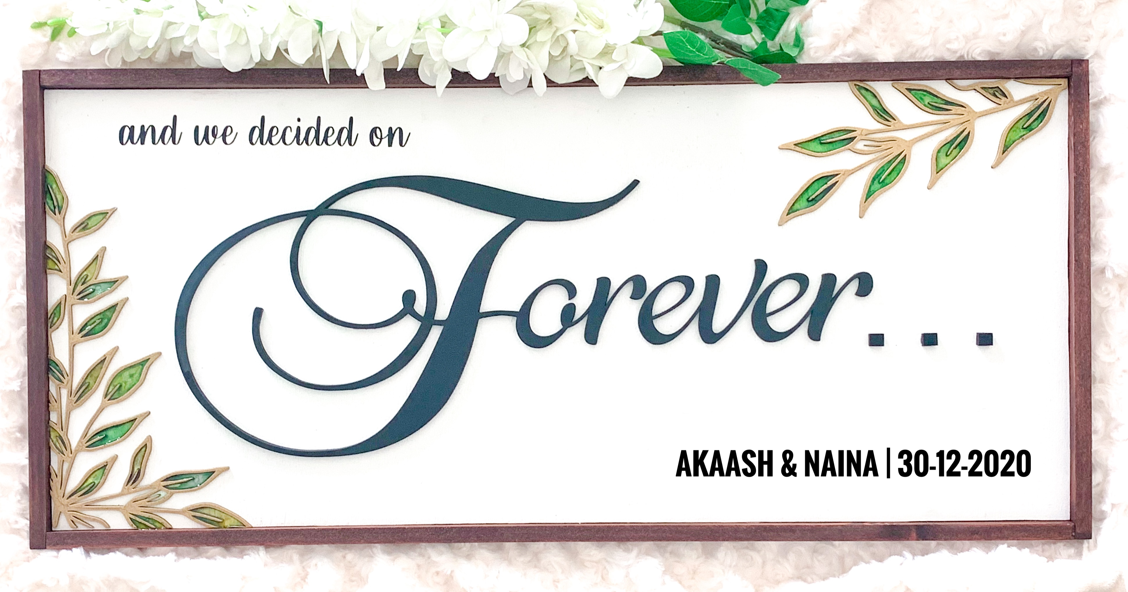 Forever Wall Sign