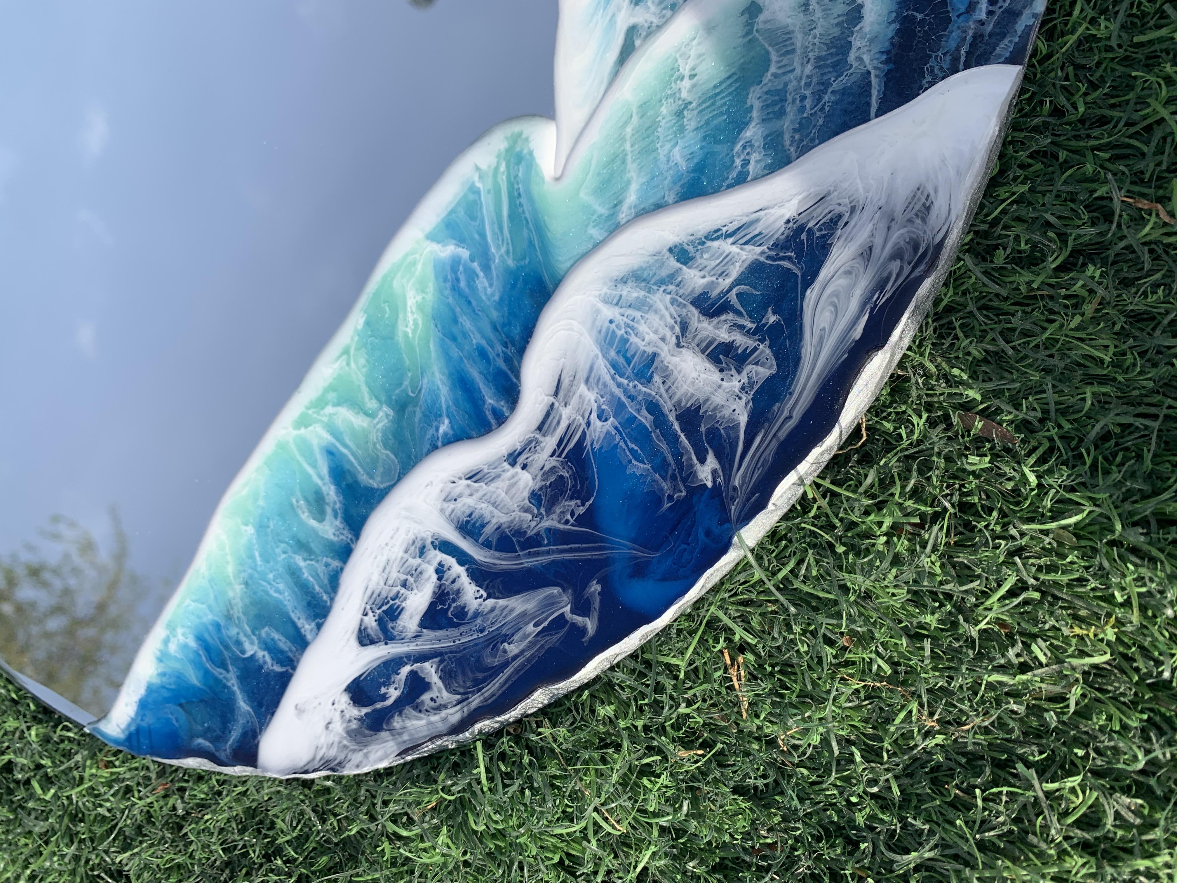 Ocean Theme Wall Art Mirror