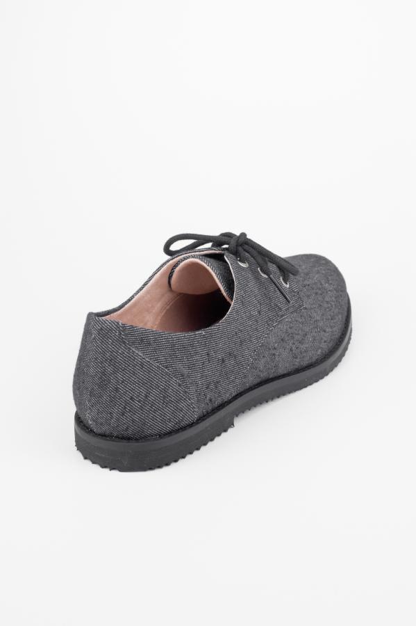 Cosmo Dark Grey Jeans Oxford