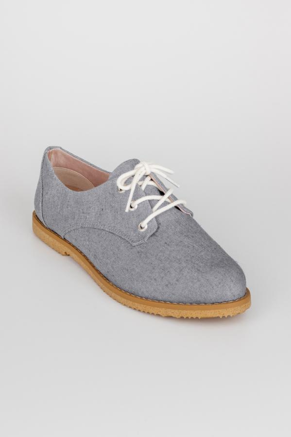 Cosmo Jeans Grey Oxford