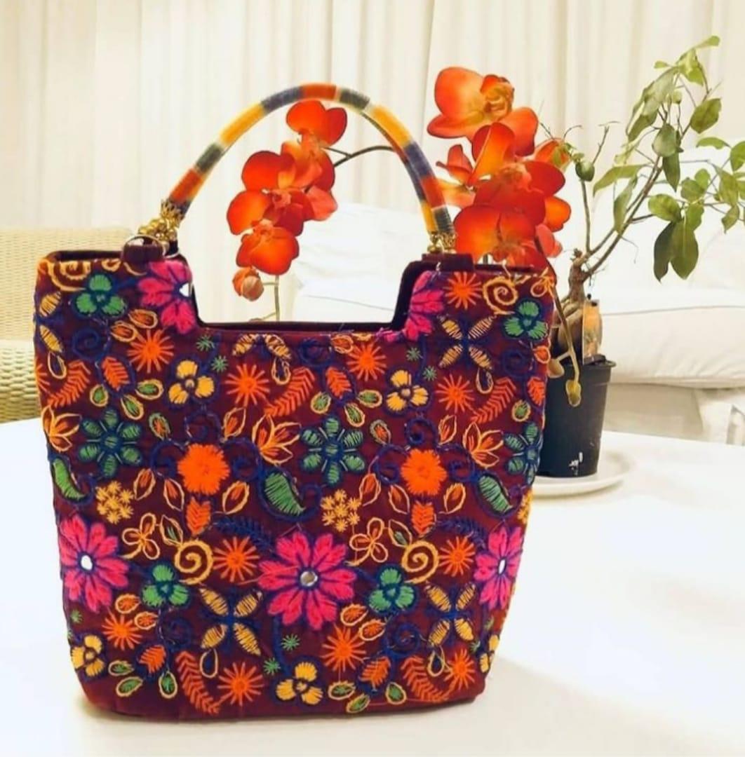 Handmade Boho Hand Bag
