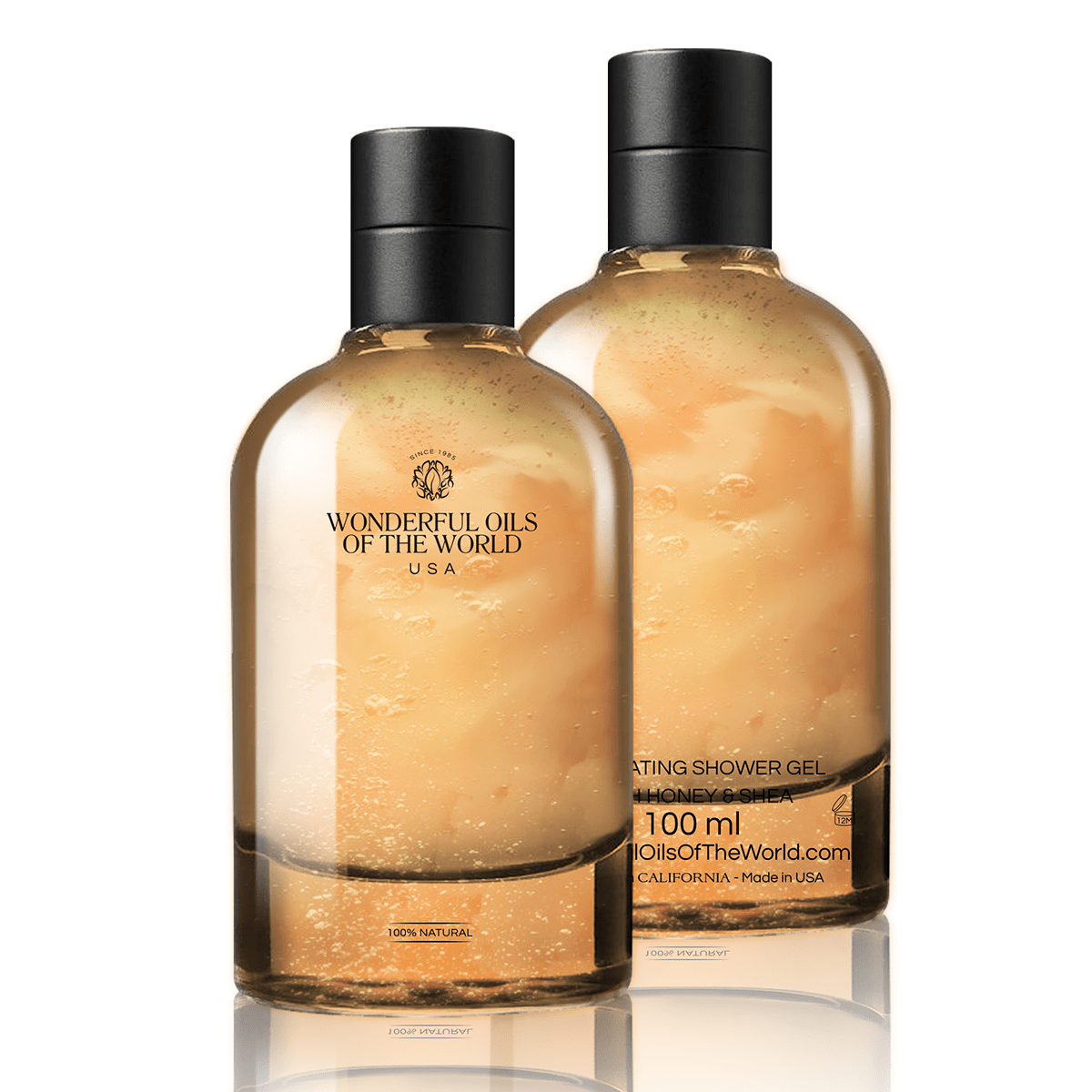 Exfoliating Shower and Bath Gel with Honey & Shea