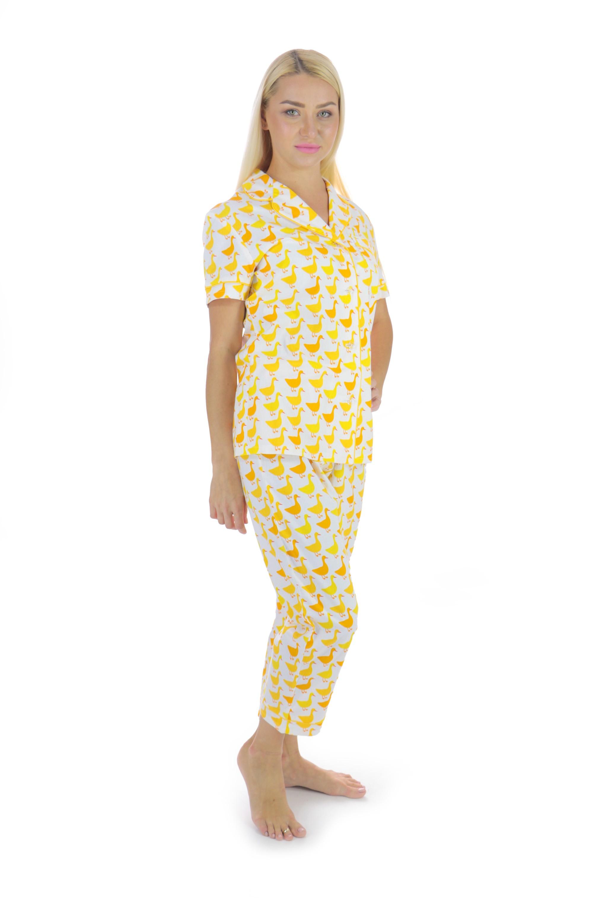 Yellow Cotton Pajama