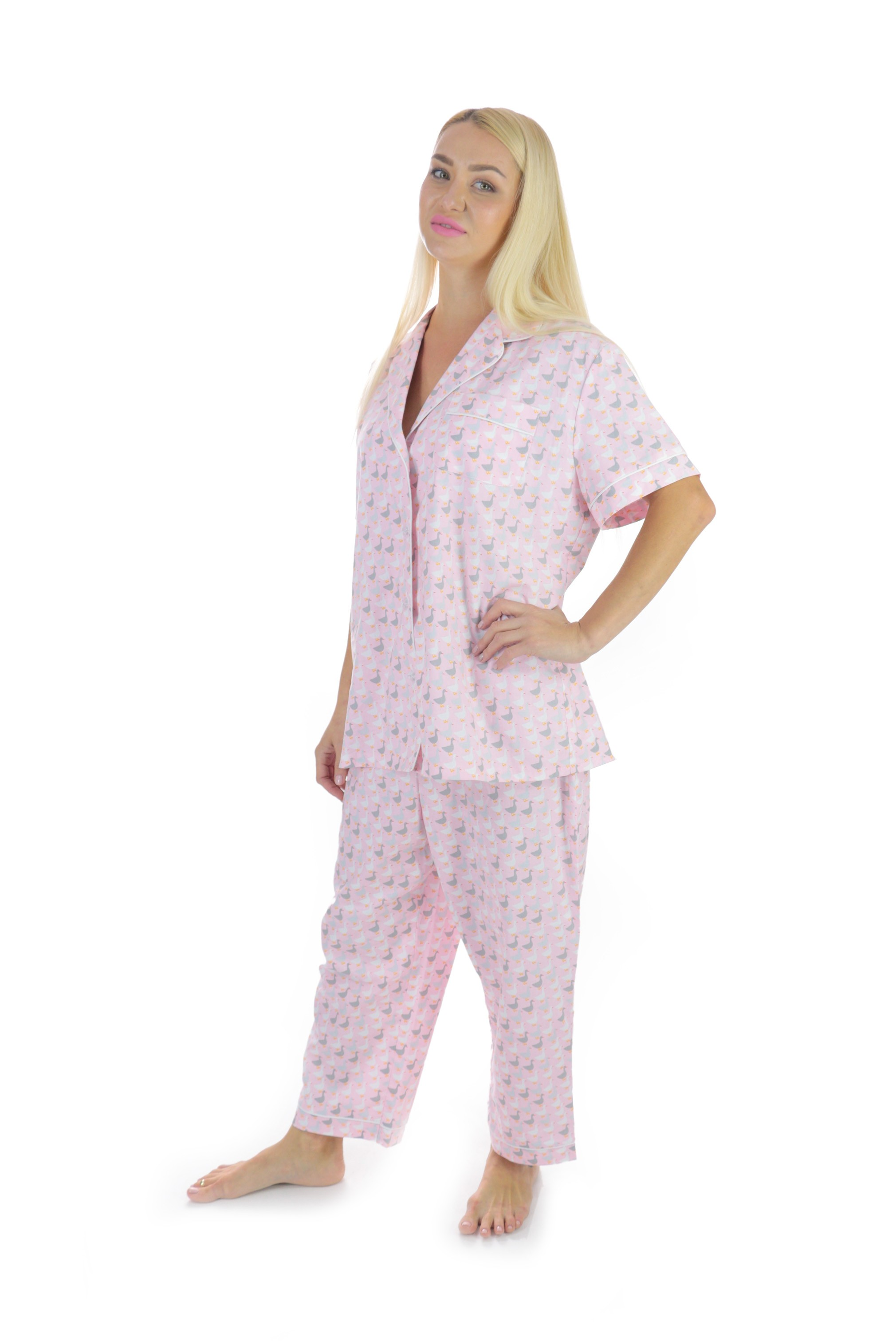 Pink Cotton Pajama