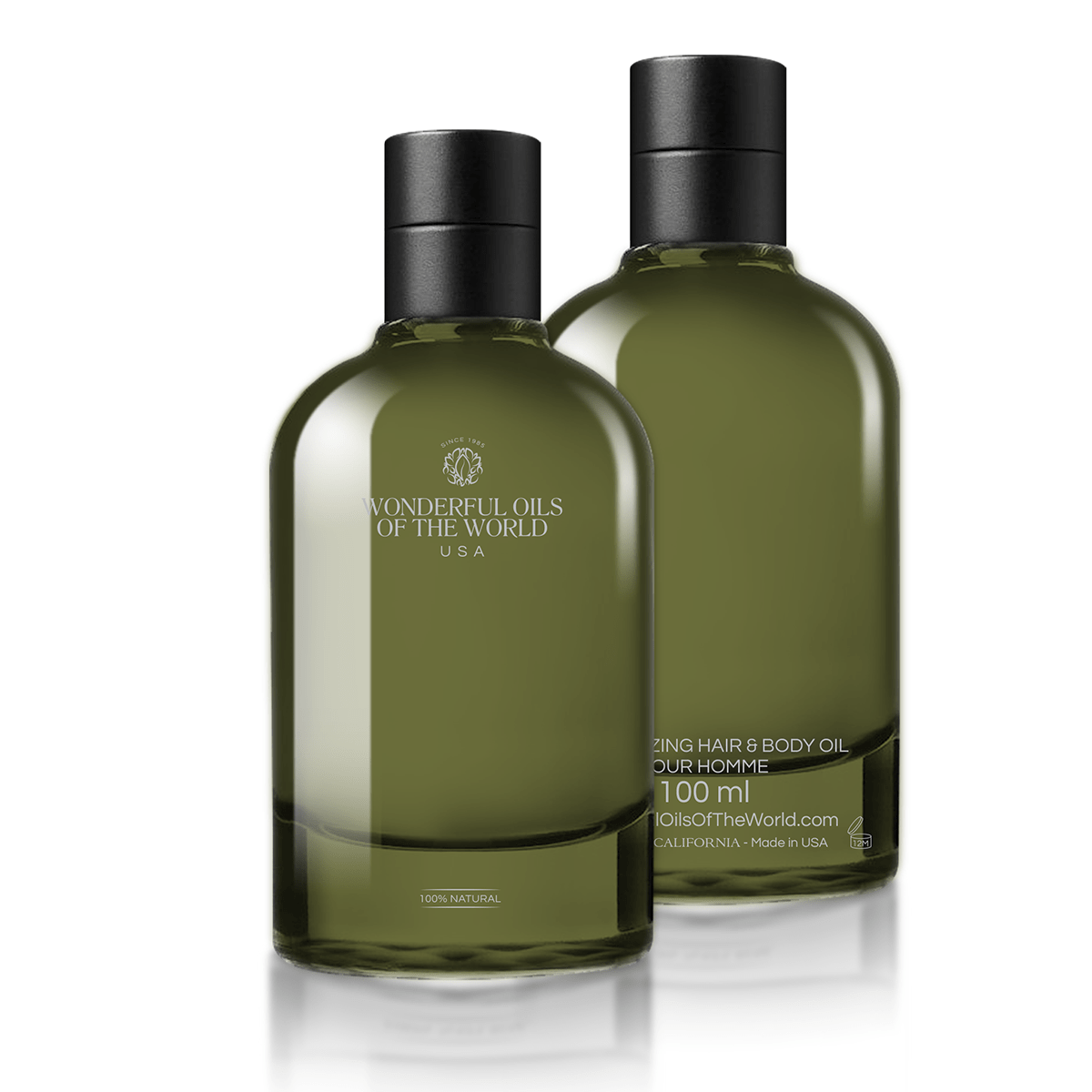 Moisturizing hair and Body Oil | Pour Homme