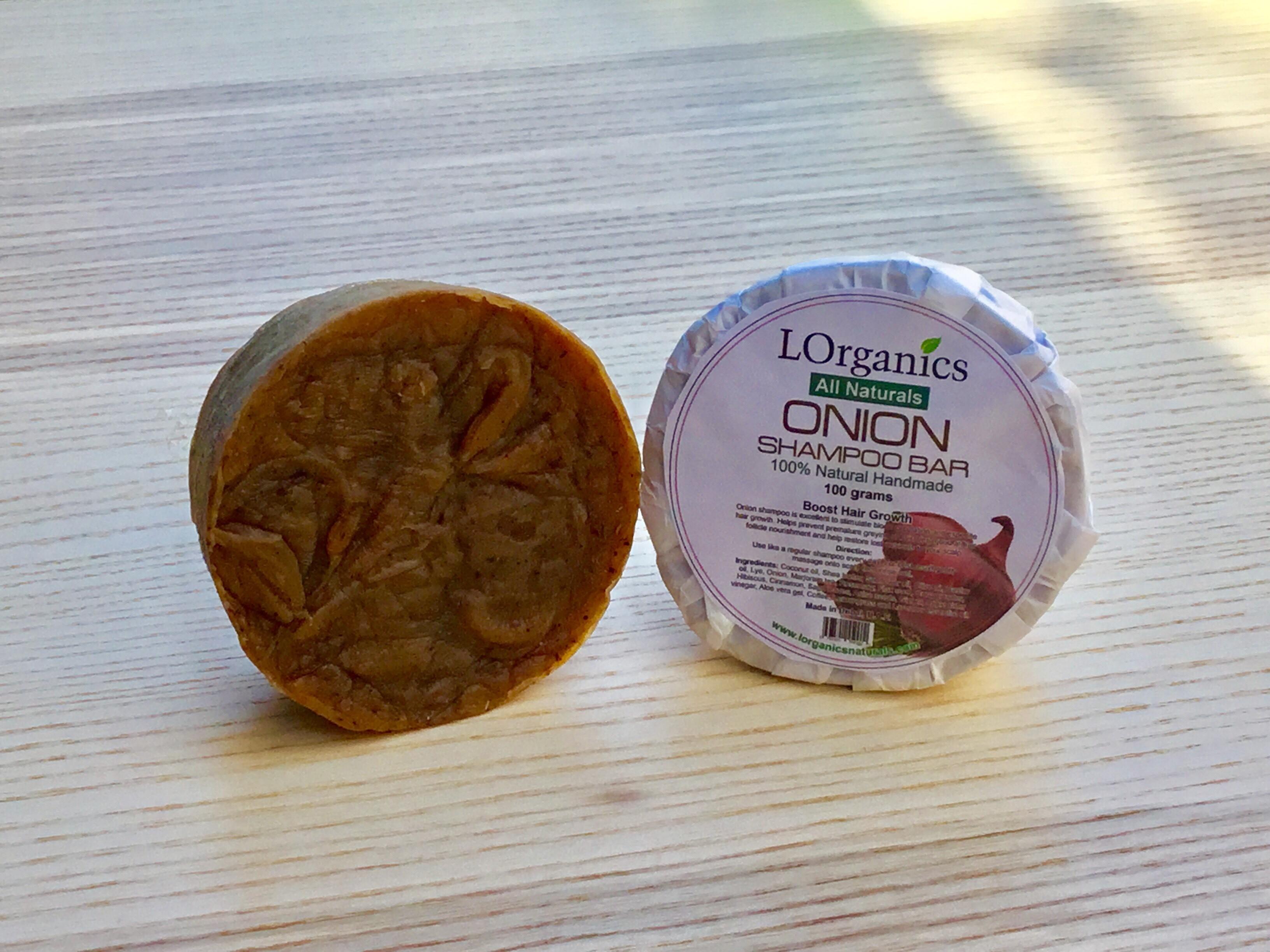 Onion Shampoo Bar 100% Natural Handmade - Boost Hair Growth