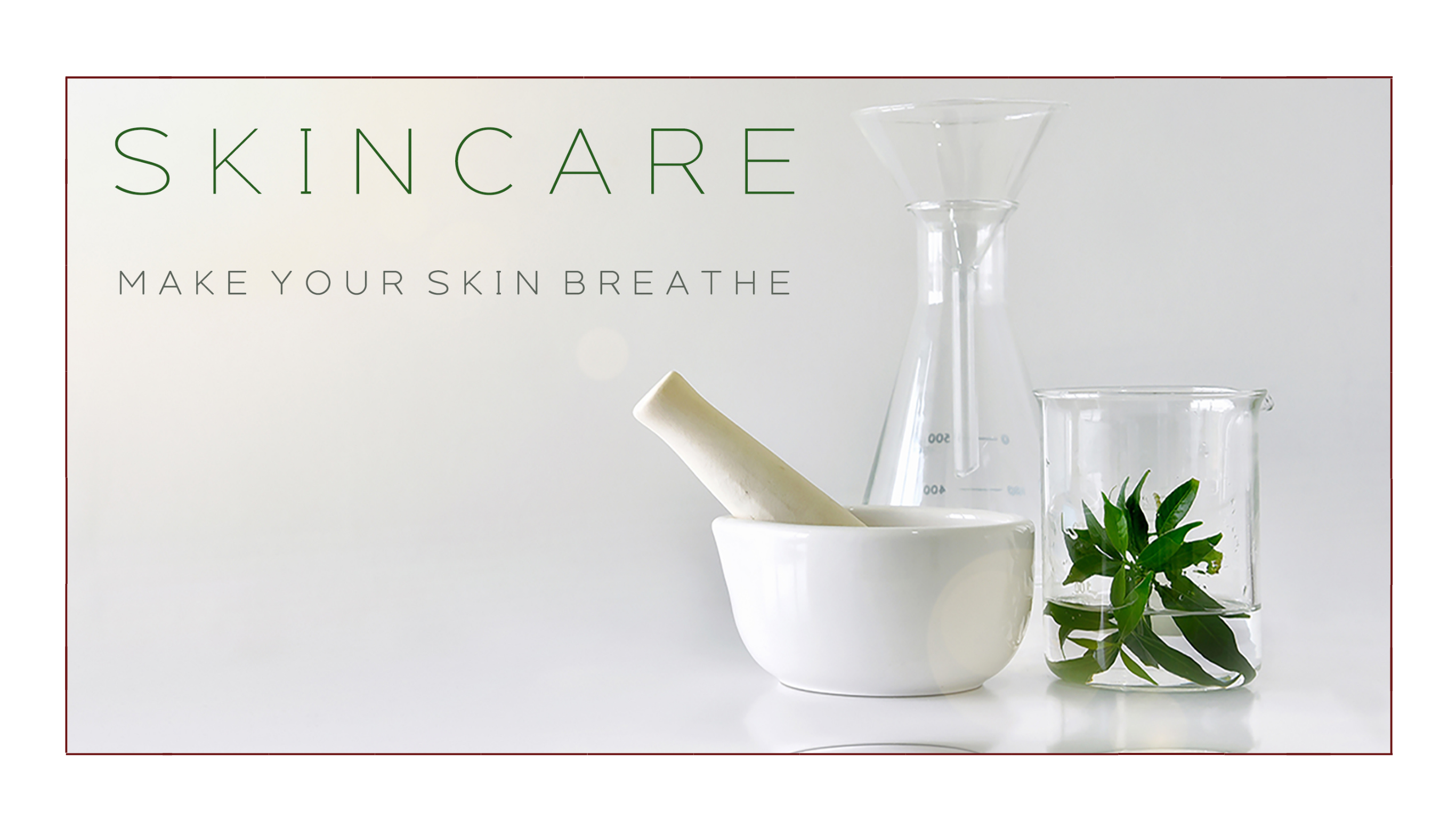 skincare on ydawi. make your skin breath nature