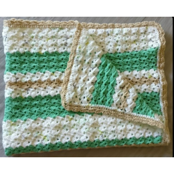 Reversible Baby Blanket ( 0-6 months)