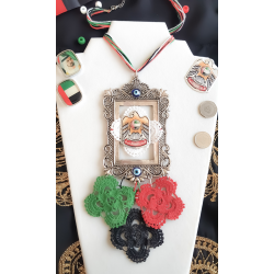 UAE National Day - Flag Color Ropes Necklace
