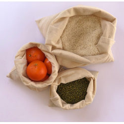 Cotton Produce Bags - Medium (Set of 5)