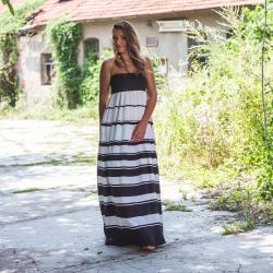 Tainia Strapless Maxi Dress