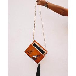 Dior Wood Clutch Bag