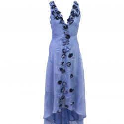 Blue on Blue High Low Dress