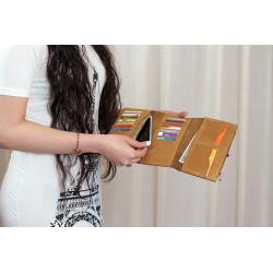 SAFE Walnut Black Unisex Wallet
