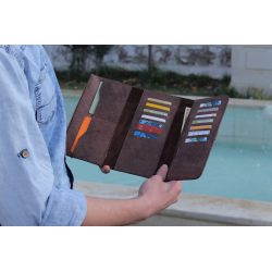 SAFE Rustic Chair Brown Unisex Wallet