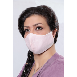 Light Pink - 100% Cotton Washable Mask