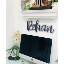 Personalized Wall Name Sign