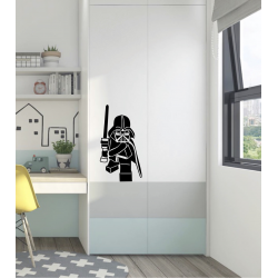 Lego Star wars Darth Vader Silhouette Vinyl Decal/Sticker
