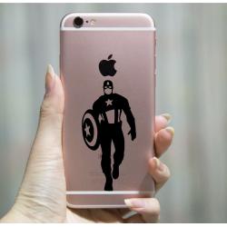 Captain America Avengers Marvel Silhouette Decal/Sticker