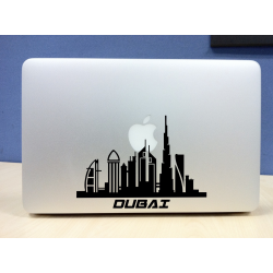 Unique Dubai Skyline Vinyl Decal/Sticker