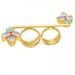 Crystal, Aqua Ring
