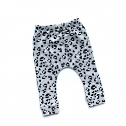 Grey Lynx Dots Leggings