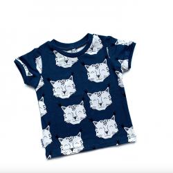 Navy Lynx T-shirt