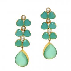 Pearl, Monalisa Earrings
