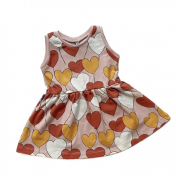 Pink Hearts Dress