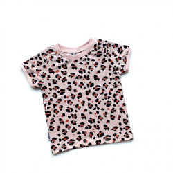 Pink Lynx Dots T-shirt