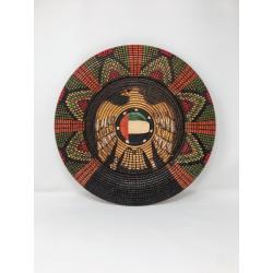 Basket Illusion UAE Flag Decorative Platter