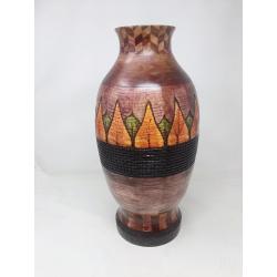 Wood Turning Segmented Vase