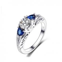 Sea of Sapphire ring