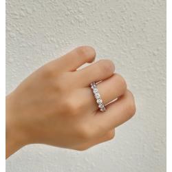 Sapphire Saturn  ring