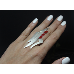 SHAMS 5 - Silver Ring