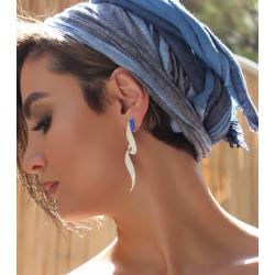 SHAMS 3 - Silver Earrings