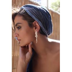 SHAMS 8 - Silver Earrings